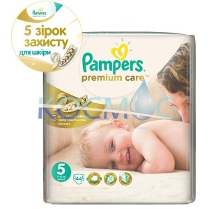 Pampers premium care 5 11-18кг. 44бр.