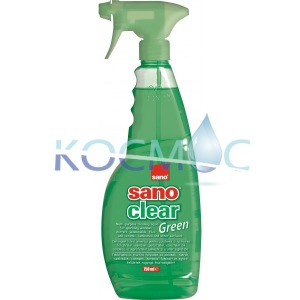 Препарат за прозорци Sano clear Green