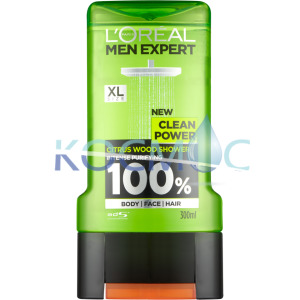 LOREAL MEN EXPERT CLEAN POWER ДУШ ГЕЛ