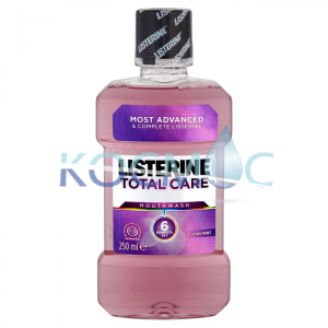 LISTERINE ВОДА ЗА УСТА 250МЛ.TOTAL CARE