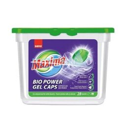 SANO MAXIMA BIO POWER GEL CAPS КАПСУЛИ ЗА ПРАНЕ 28БР.