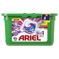 Капсули за пране Ariel 3in1 pods color 12 пранета