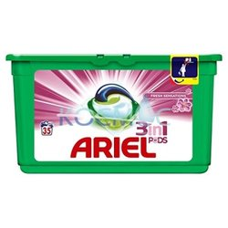 Капсули за пране Ariel 3in1 Pods Touch Lenor Fresh 39 пренета