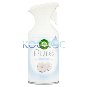 AIR WICK PURE SOFT COTTON СПРЕЙ АРОМАТИЗАТОР 250МЛ.