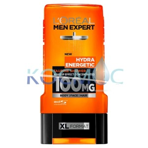 LOREAL MEN EXPERT HYDRA ENERGETIC ДУШ ГЕЛ 300мл.