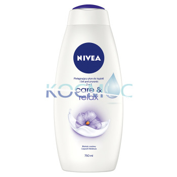 NIVEA CARE & RELAX ДУШ ГЕЛ 750МЛ.
