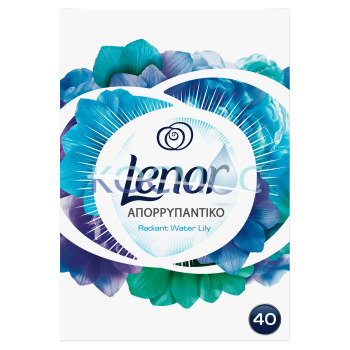 LENOR RADIANT WATER LILY ПРАХ ЗА ПРАНЕ 40ПР.