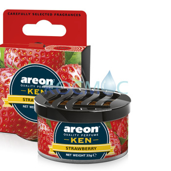 Ароматизатор Areon Ken - Strawberry / Ягода 35гр