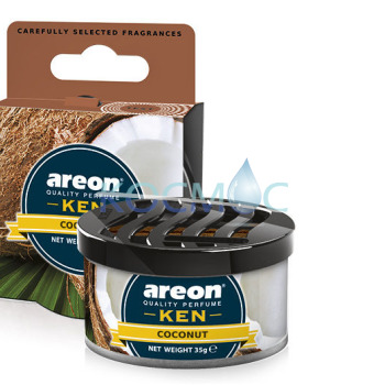 Ароматизатор Areon Ken - Coconut / Кокос 35гр