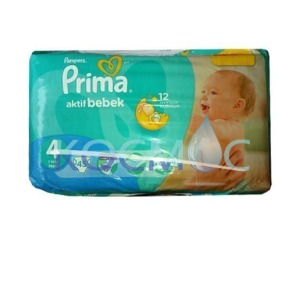 PAMPERS ПРИМА 4 7-14КГ. 45БР.
