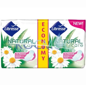 Дамски превръзки Libresse Natural care ultra- normal