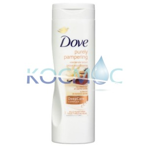 Dove purely pamperin - shea butter and warm vanillа Лосион за тяло 400мл.