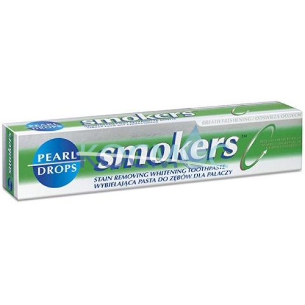 ПАСТА ЗА ЗЪБИ PEARL DROPS SMOKERS ЗА ПУШАЧИ