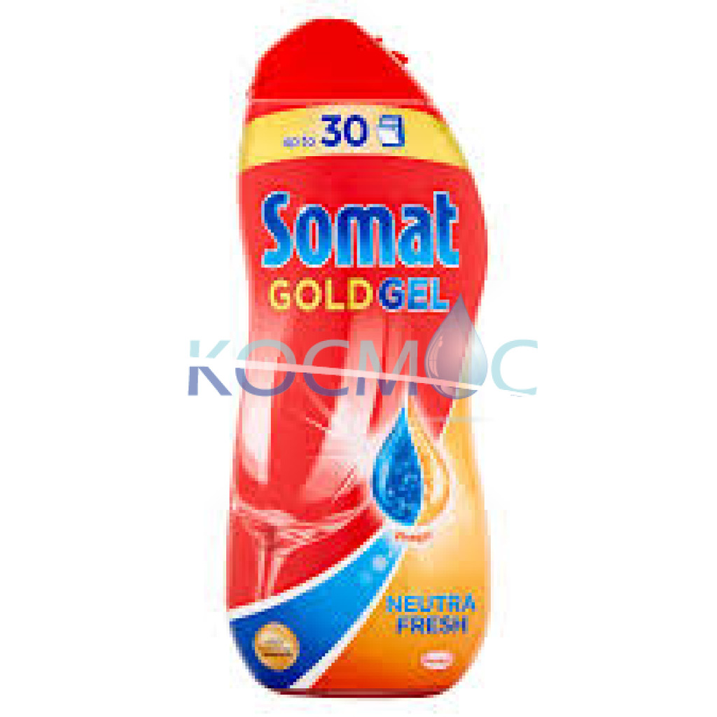 Гел за съдомиялна Somat Gold Gel - vinegar
